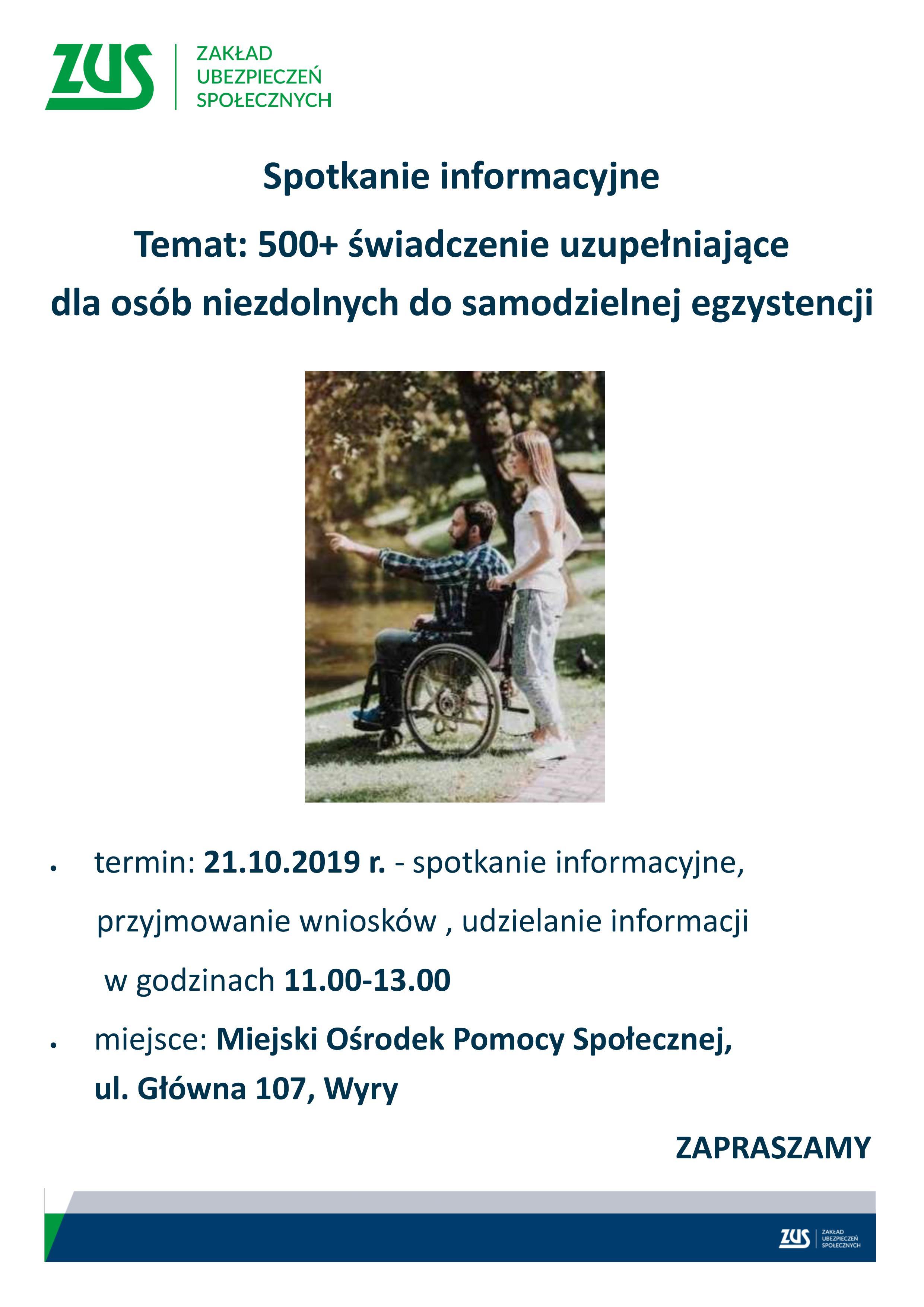 500 dla niepełnosprawnych