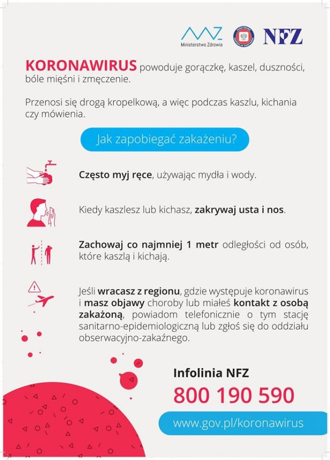 Koronawirus-plakat